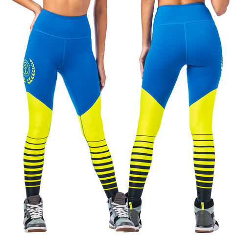 Zumba Sport High Waisted Long Leggings