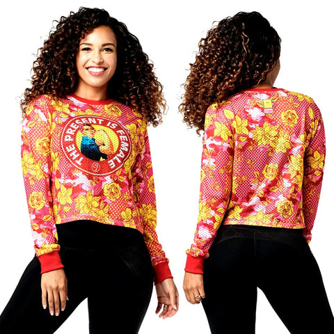 Zumba Spread Love Long Sleeve Top (size S - only 1 left)
