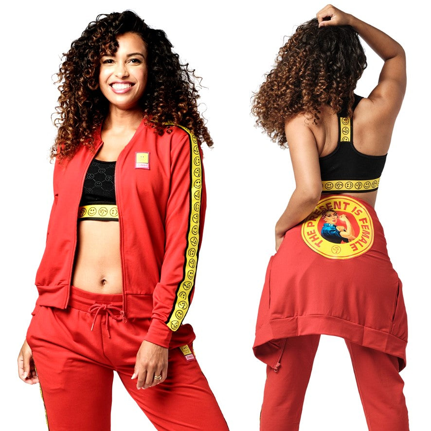 Zumba Spread Love Zip-Up Jacket (size S, M)