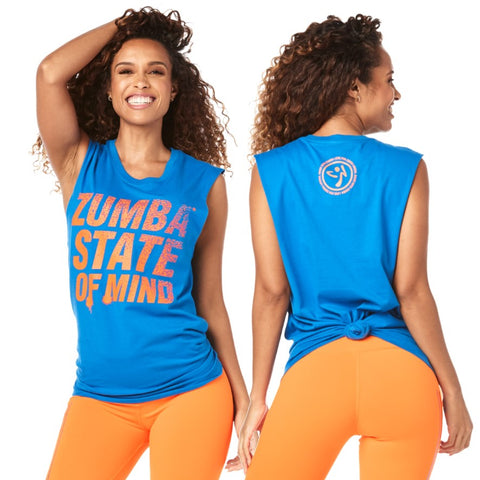 Zumba State Of Mind Muscle Tank (size XL/XXL)