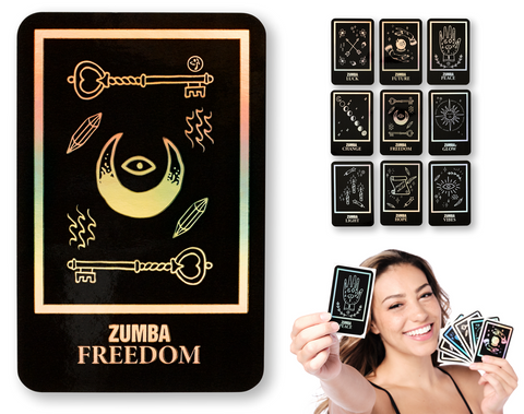Zumba Tarot Card Stickers (9 PK)