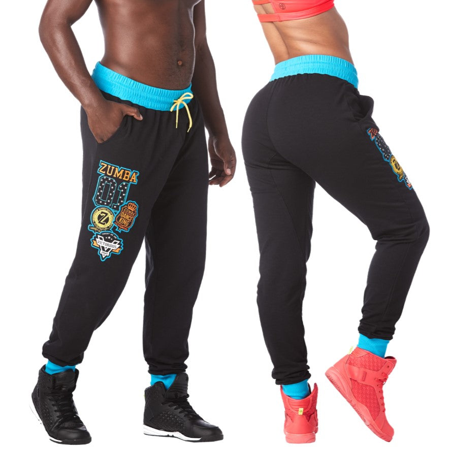 Zumba Victory Sweatpants (size S - only 1 left)