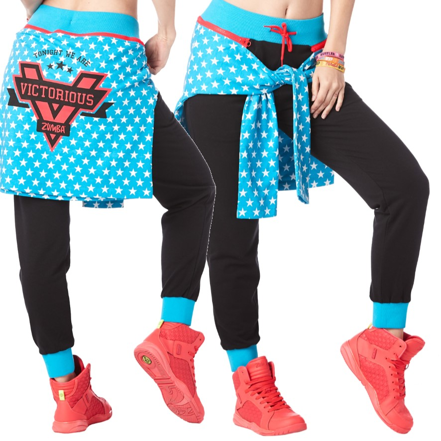 Zumba Victory Tied Up Sweatpants (size M - only 1 left)