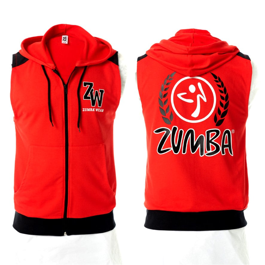 Zumba Wear Men's Sleeveless Hoodie (Pre-Order)