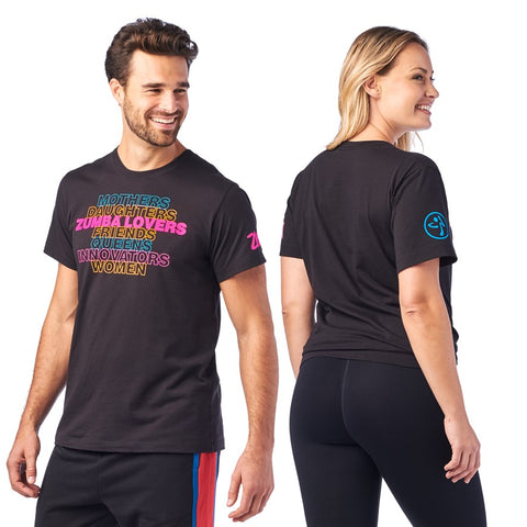 Zumba Woman and Proud Tee