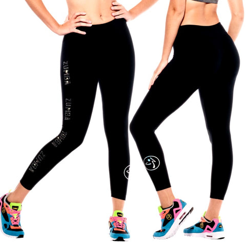 Zumba Future Ankle Leggings With Swarovski Crystals (size M)