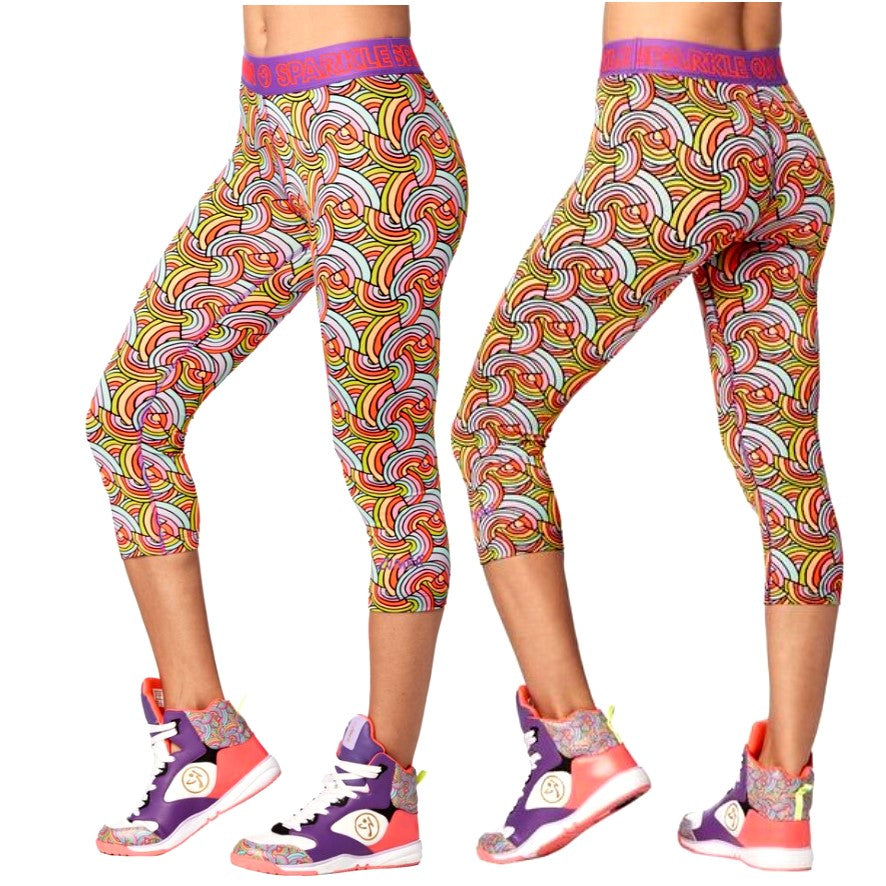 Believe in Magic Capri Leggings (sizes XS, S & M)