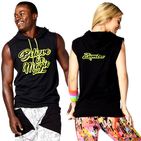 Believe in Magic Sleeveless Hoodie (sizes XS, S & M)