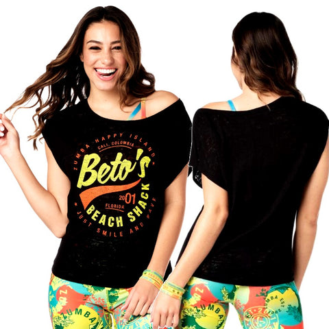Beto's Beach Shack Top (size XXL - only 1 left)