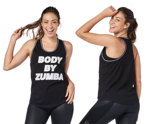 Body By Zumba Tank With Swarovski Crystals (Pre-Order)