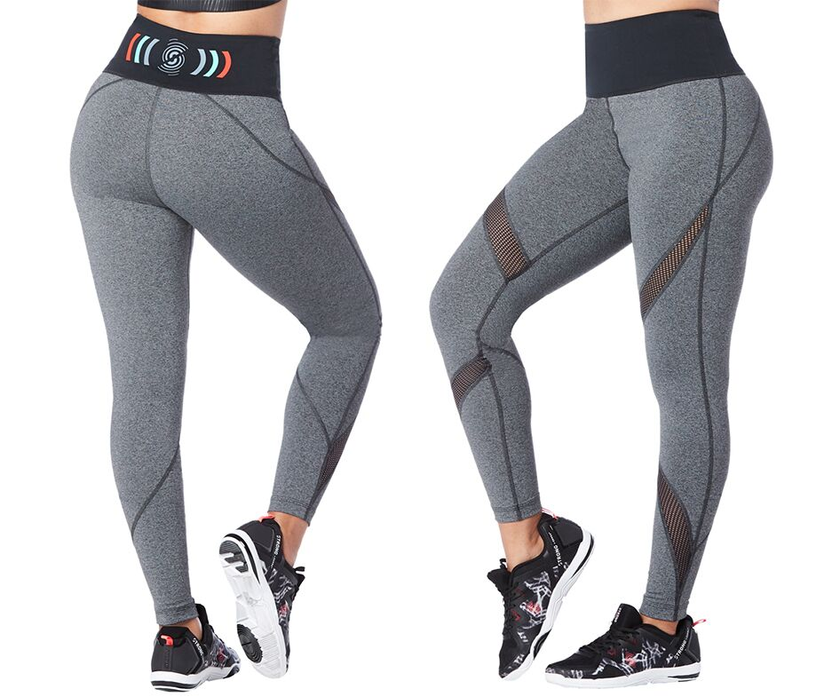 Crushin It High Waisted Ankle Leggings (size XS - only 1 left)