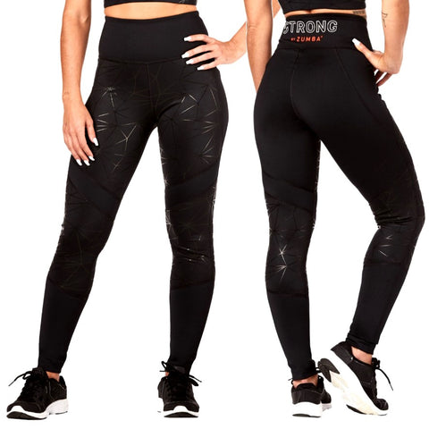 Squat And Burpees High Waisted Ankle Leggings (size M, L)