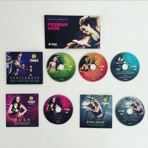 Exhilarate 5 DVD Pack (AUS)