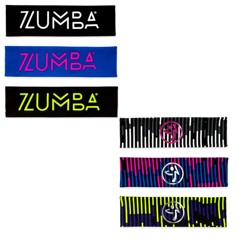 Fast Beats Reversible Headbands 3pk
