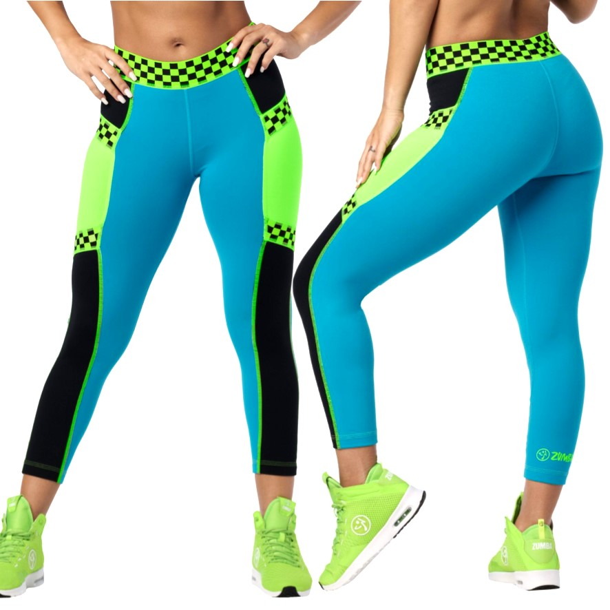 Faster Better Crop Leggings (size XS, L)