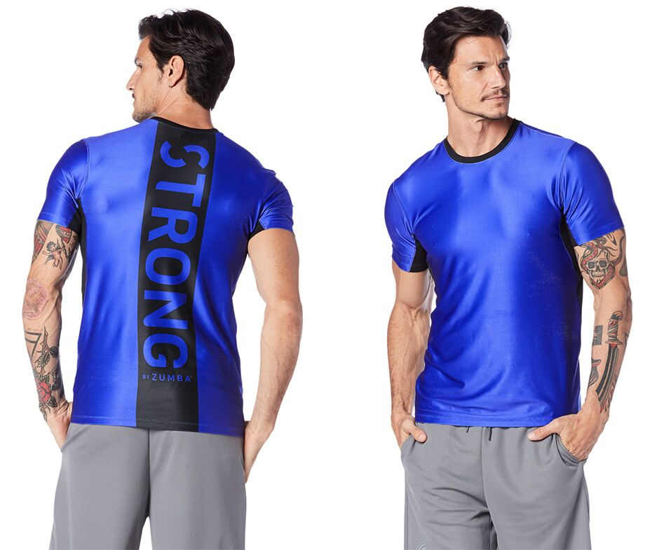 Get Amped Mens Performance Top (size S, L)