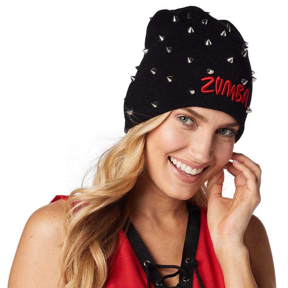 I Run This Studded Beanie