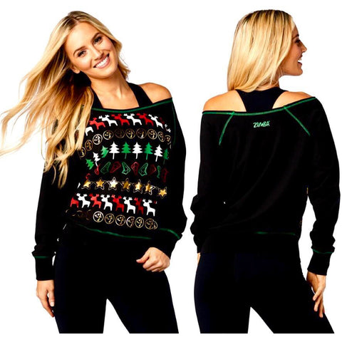 Zumba Ugly Christmas Sweater (sizes XS, M)