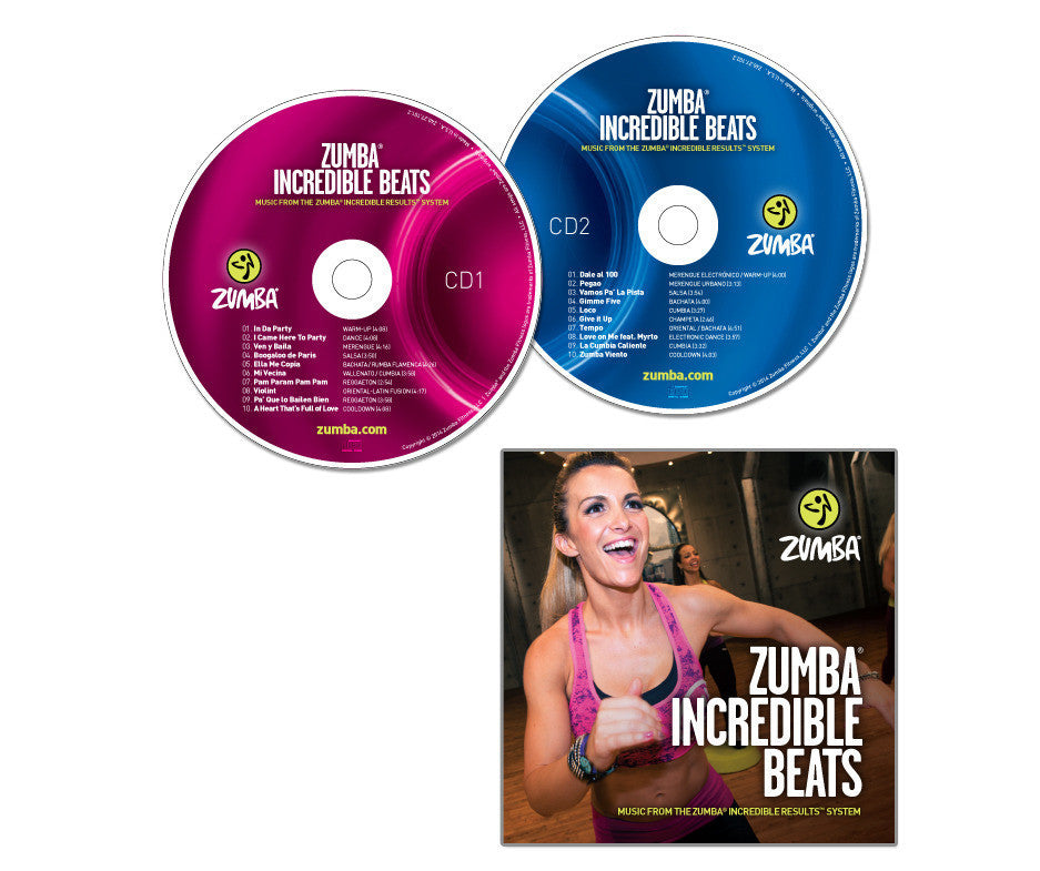 Zumba Incredible Beats - 2CD Set (AUS)