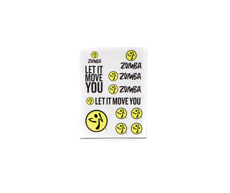 Let It Move You Stickers (5pk)