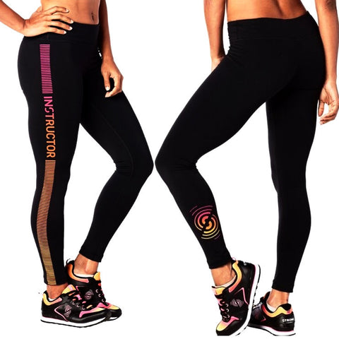 Let It Sync In Instructor Leggings (size XXL)