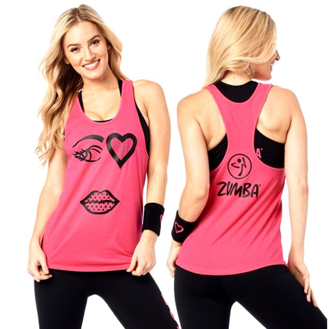 Only Have Eyes For Zumba Loose Tank