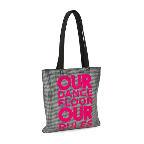 Our Dance Floor Metallic Tote Bag (AUS)