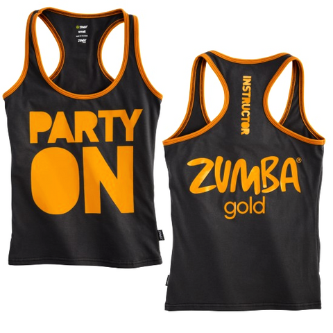Party On Instructor Racerback (size XS - only 1 left)