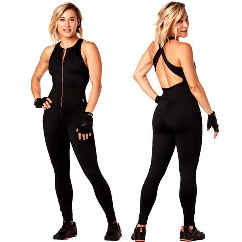 Strong By Zumba Cross Back Bodysuit (size L, XL)