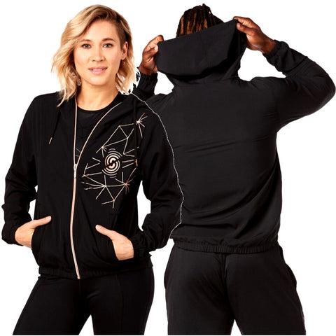Strong By Zumba Performance Zip Up Jacket (size XS, S, M, L)