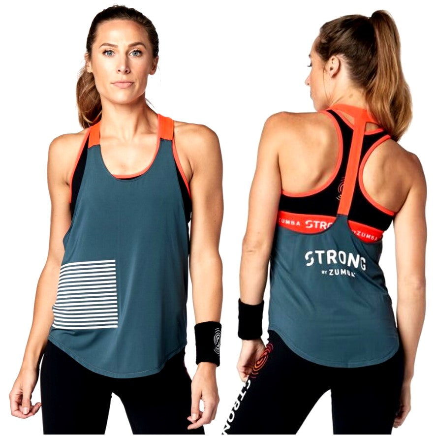 Strong by Zumba Tank (size L - only 1 left)