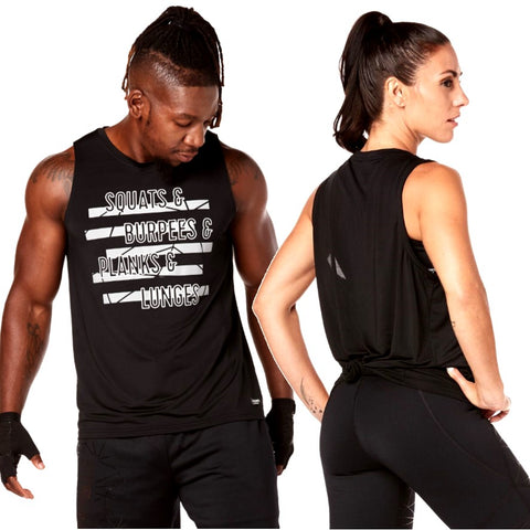 Squat And Burpees Mens Tank (size M, L, XL)