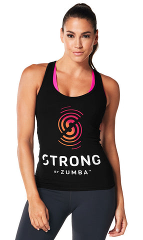 Strong By Zumba Instructor Racerback (sizes XS, S & XXL)