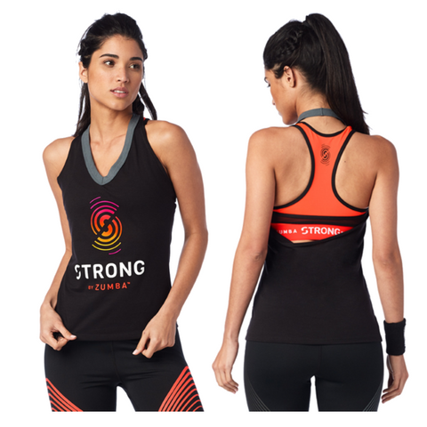 Strong By Zumba Halter Top (sizes S & L)