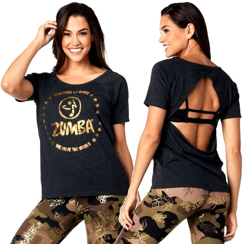 Together We Dance Open Back Top (sizes XS, S & M)