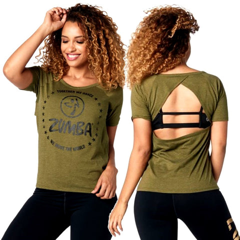 Together We Dance Open Back Top (sizes S, M & L)