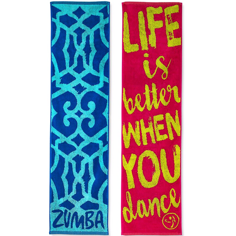 When You Dance Fitness Towels 2pk (AUS)