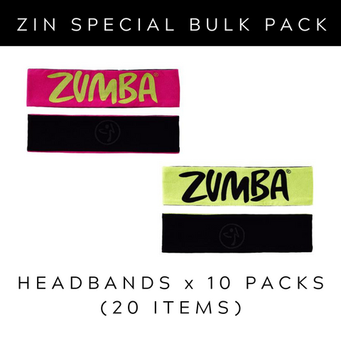 ZIN Bulk Pack 2 - Headbands