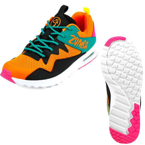 Zumba Air Classic 2.0 - Orange (sizes 6,10,11)