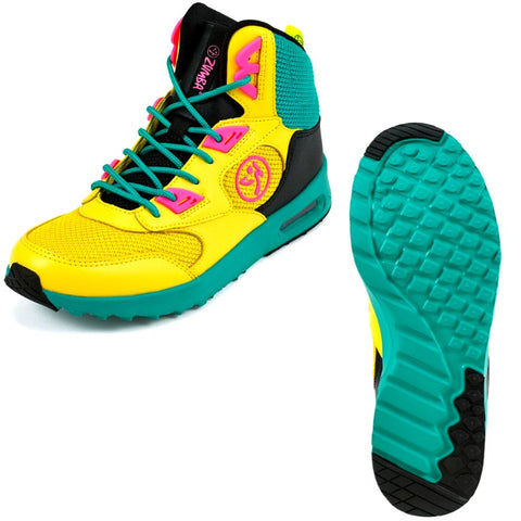 Zumba Air Bounce - Yellow (size 9.5, 11)