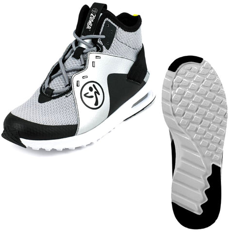 Zumba Air Reach - Silver (sizes 6,8 & 11)