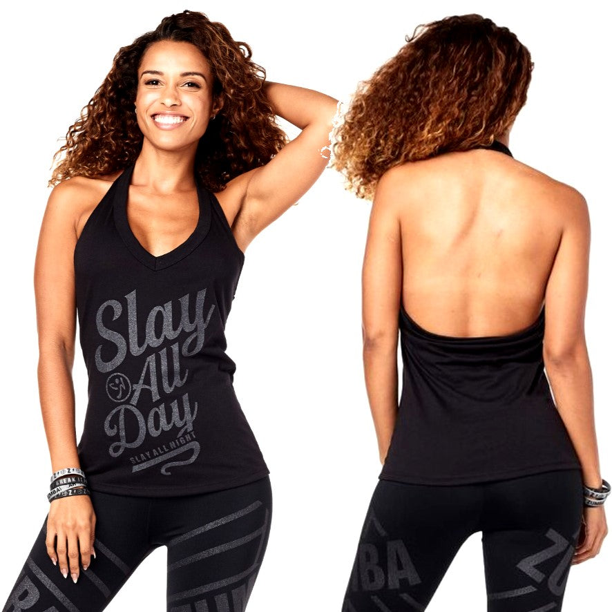 Zumba All Day Halter (size L, XL)