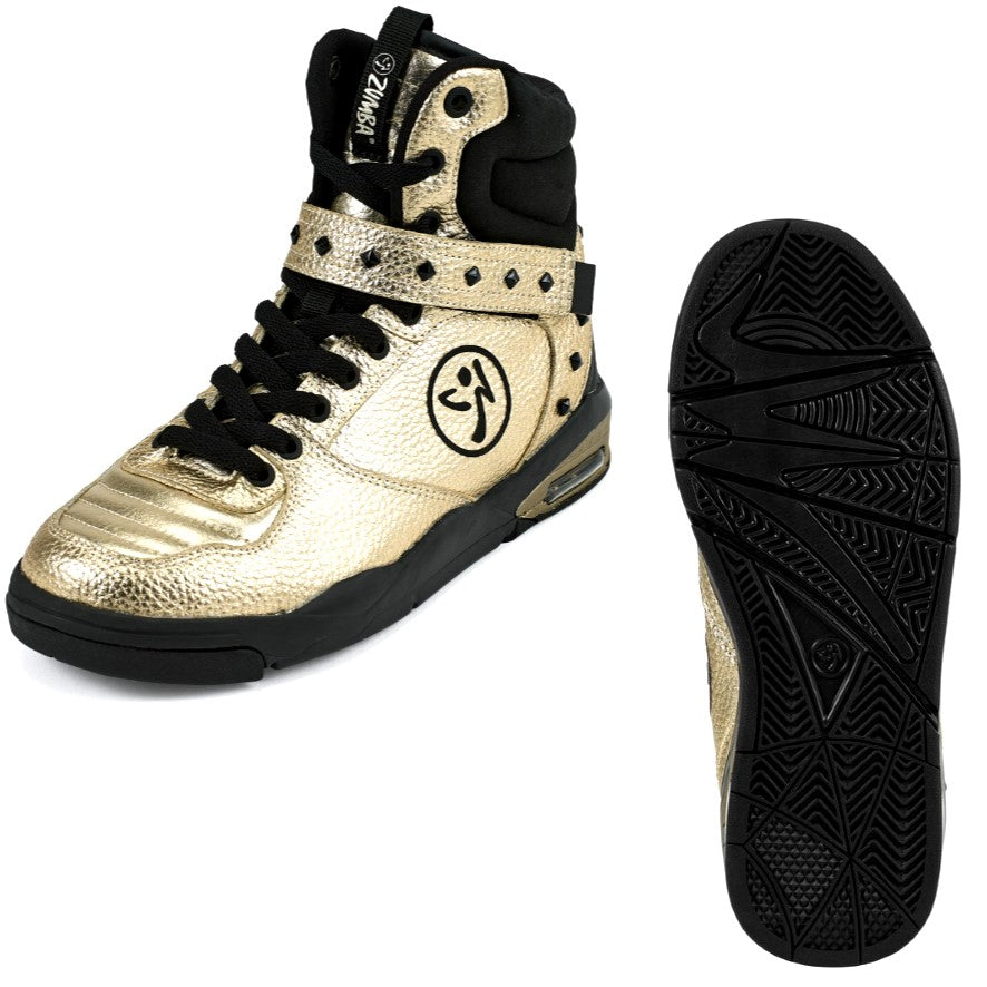 Zumba Court Air - Gold (size 7, 9.5, 10, 11)