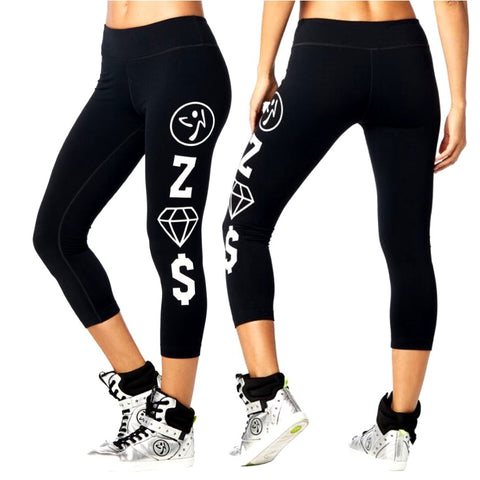 Zumba Crew Crop Leggings (size XS)