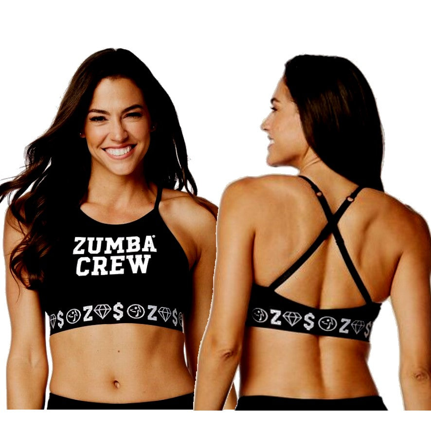 Zumba Crew High Neck Bra