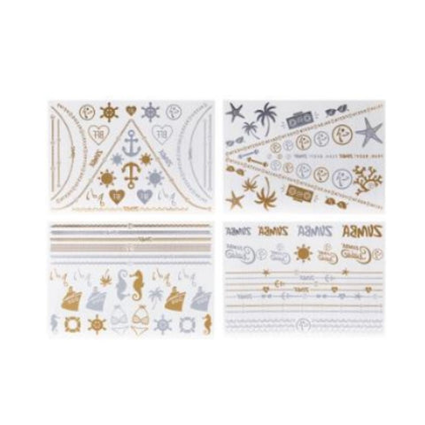 Zumba Cruise Flash Tattoos 4pk (AUS)