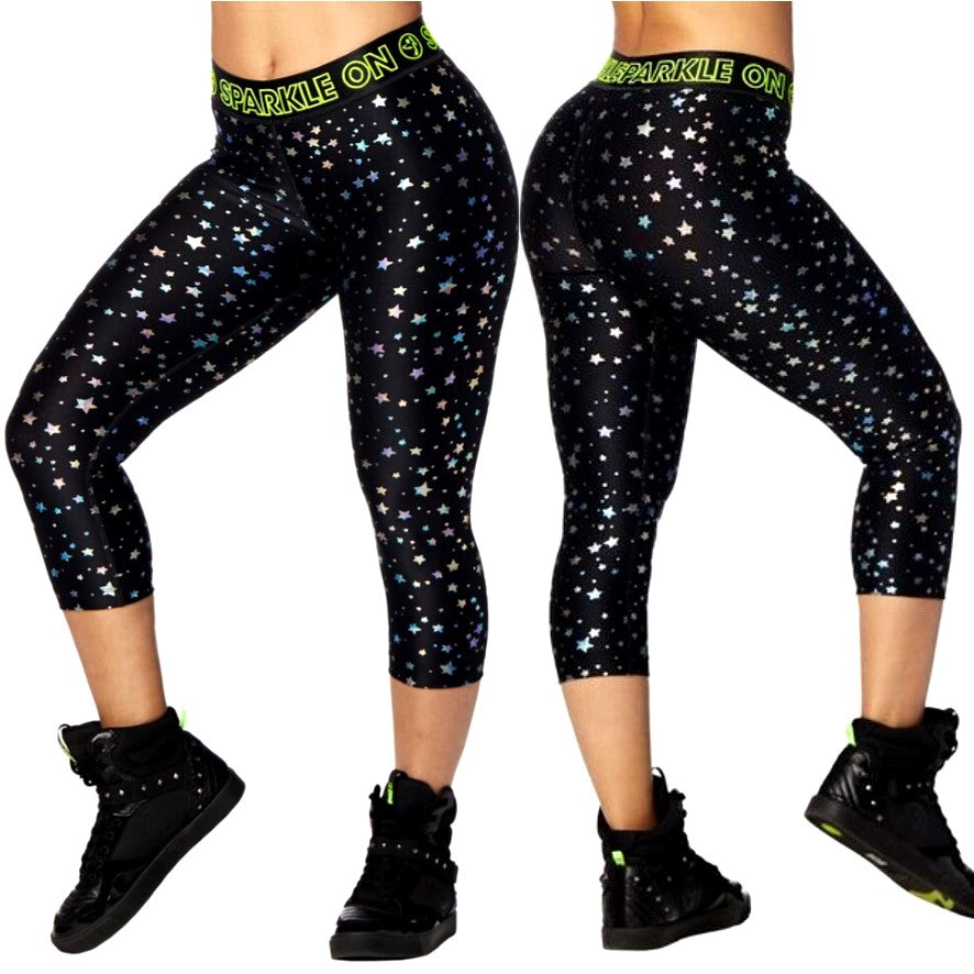 Zumba Dream Capri Leggings (size XS)