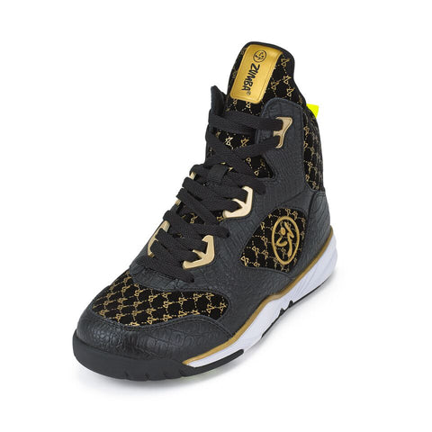 Zumba Energy Boom - Black/Gold (size 9.5)
