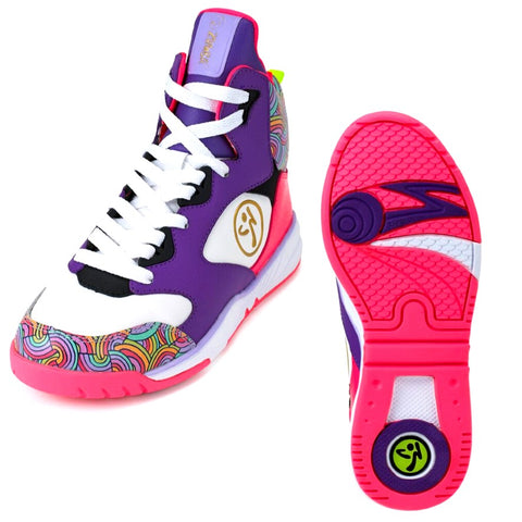 Zumba Energy Boom - Lavender (size 9 - only 1 left)