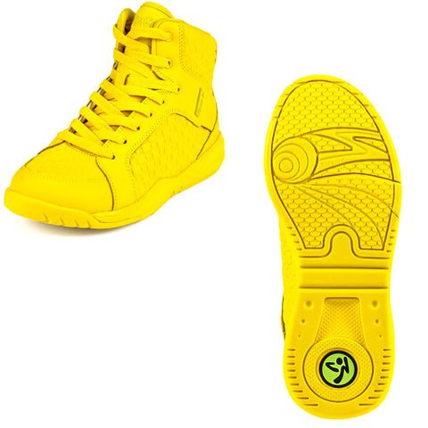 Zumba Energy Boss - Yellow (size 6, 7, 7.5)